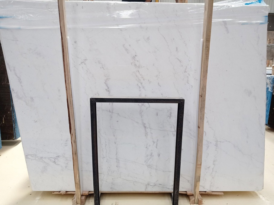 New Volakas White Marble Slabs
